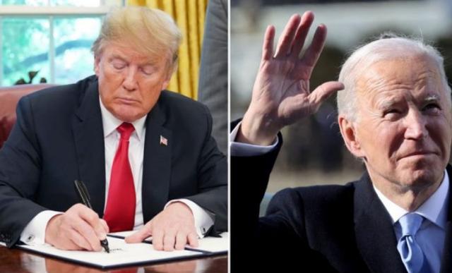 Biden komenton shënimin e Trump: Më la një letër shumë