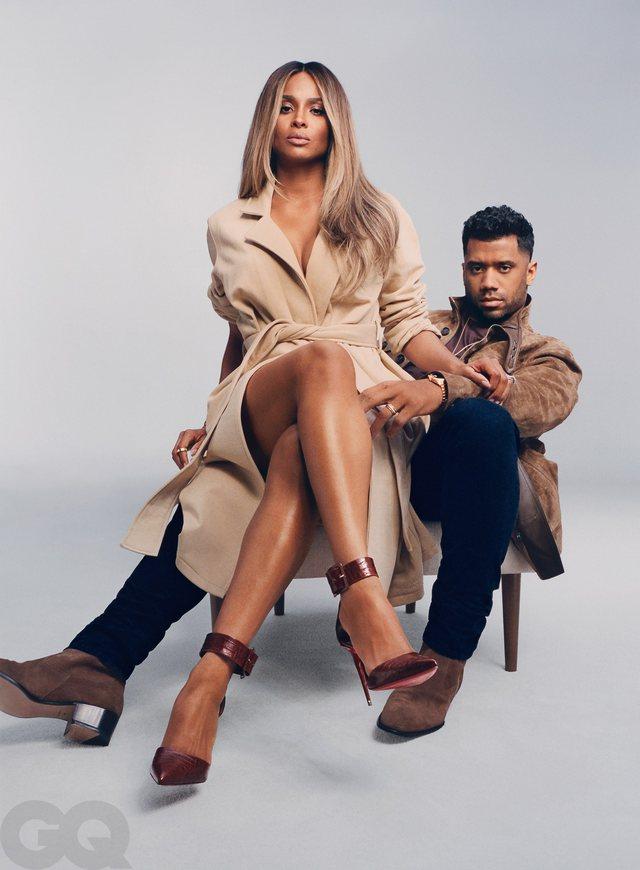Russell Wilson dhe Ciara bëjnë çiftin perfekt