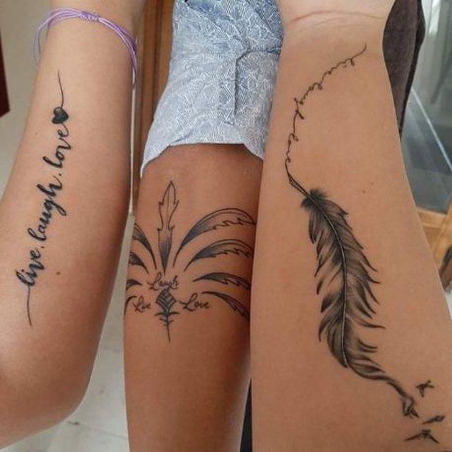 Ide të veçanta tatuazhesh për ju qe jeni 3 fëmijë