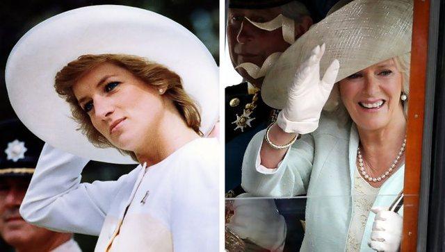 12 herët kur Camilla Parker është veshur si Princeshë Diana