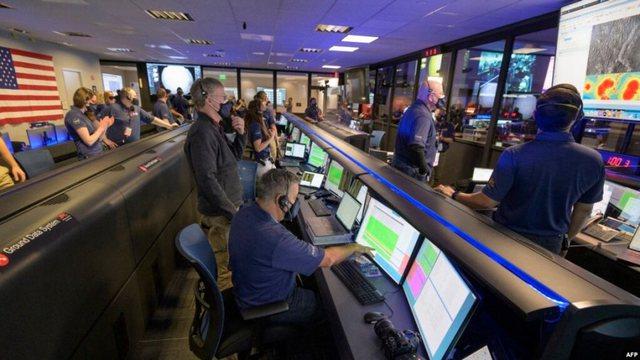 NASA publikon pamje nga ulja e sondës në Mars