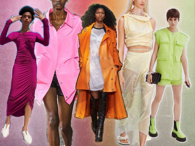 5 colors that will dominate in spring - summer 2021