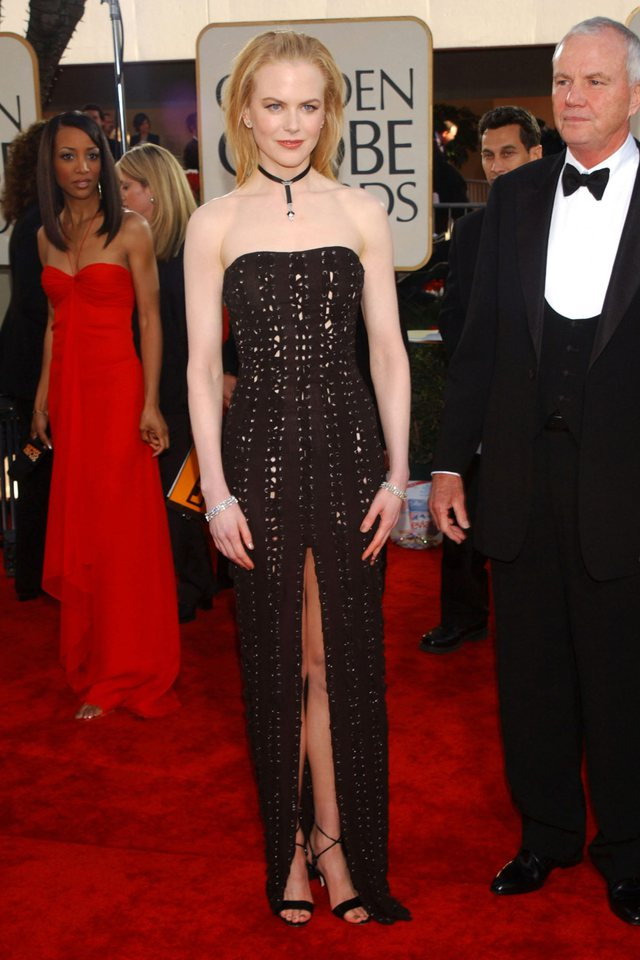 Nicole Kidman pëlqen të veshë këto dy tendenca në