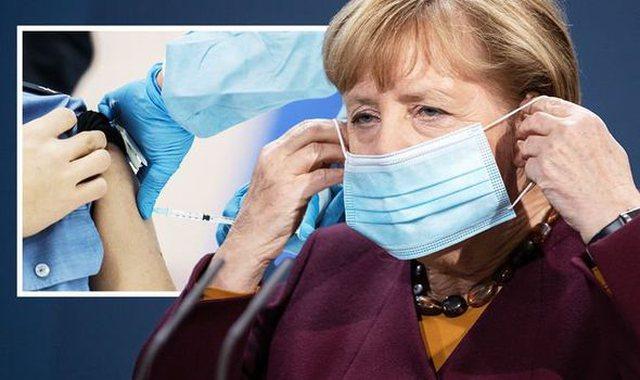 "Merkel refuzon të vaksinohet me ""Astrazeneca"""