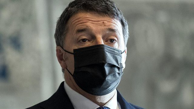 Two bullets in an envelope, former Italian Prime Minister Matteo Renzi is