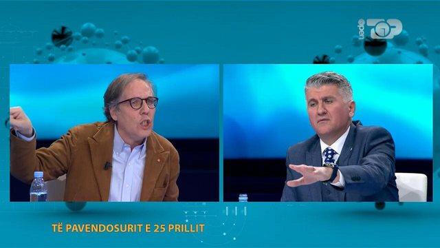"""""""You have denied Bush's stolen watch"""", Gjekmarkaj debate with"""