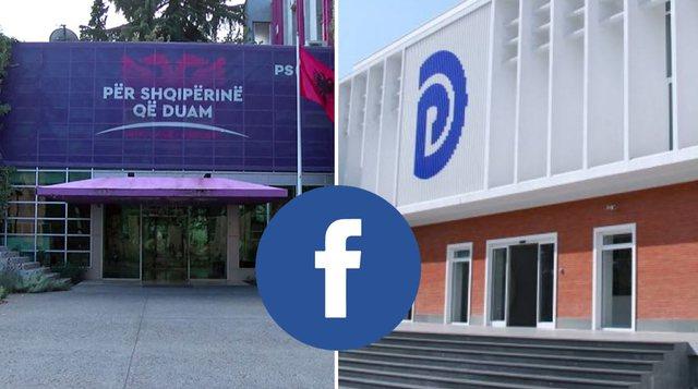 Zgjedhjet, Facebook thirrje partive politike: Bëni transparencë