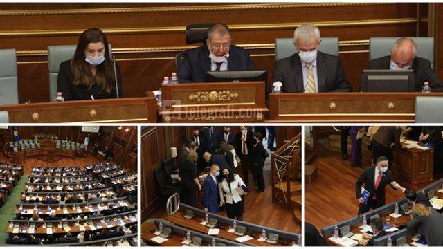 Nis seanca konstituive e Kuvendit të Kosovës, betohen deputetët