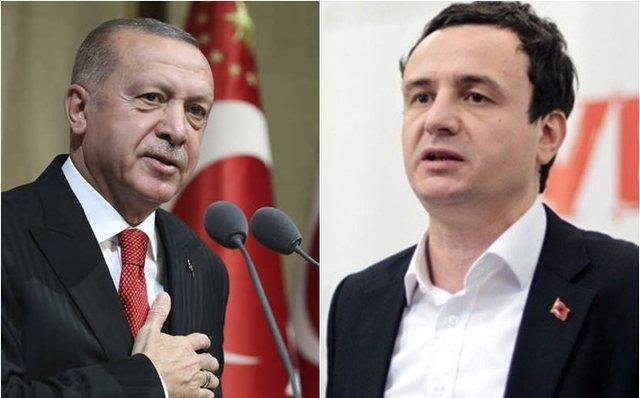 Erdogan letër Kurtit: Rishiko çështjen e ambasadës në