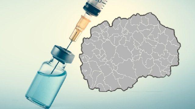 Nis vaksinimi masiv në Maqedoninë e Veriut