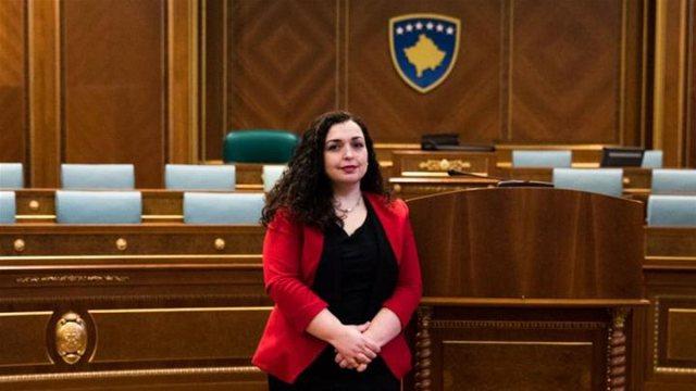 Vjosa Osmani zgjidhet Presidente e Kosovës