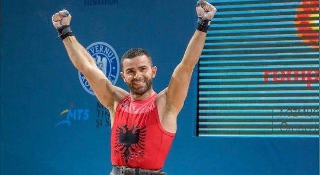 Peshëngritësi shqiptar renditet i treti në kampionatin europian