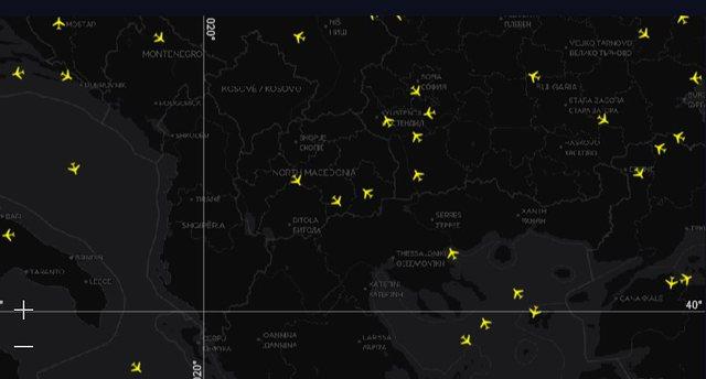 """Shqipëria """"zonë e vdekur"""" ajrore"""