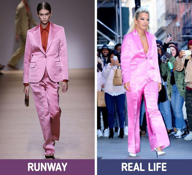 Trends that look good on catwalks but uncomfortable in everyday life
