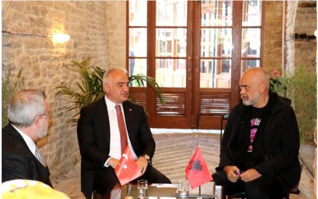 Takimi i Ramës me ministrin turk, mediat greke: Rivendosën