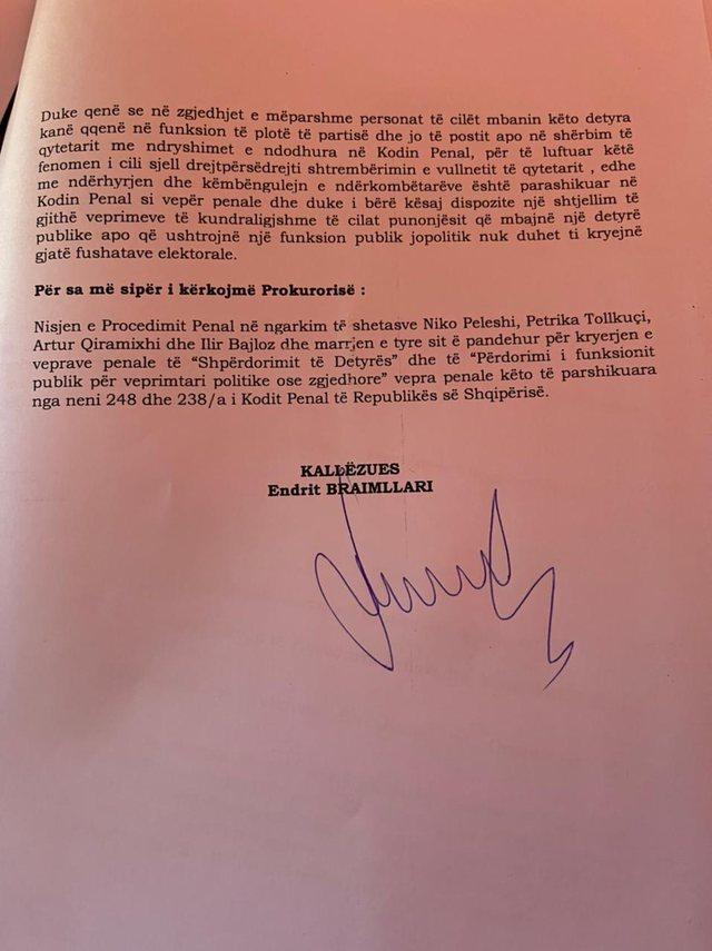 """""""Përdorën funksionin publik për fushatë"""", LSI padi"""