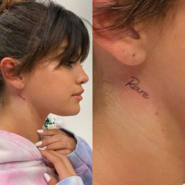 Kuptimi i tatuazhit të 15-të të Selena Gomez