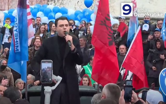 """""""Nga Tropoja e Sali Berishës dhe Azem Hajdarit"""", Basha:"""