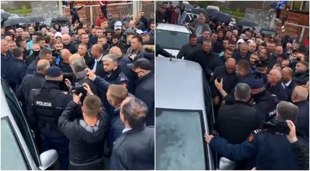 """""""Caught in bundles with 50"""", the car is blocked in Maqellara, it is"""