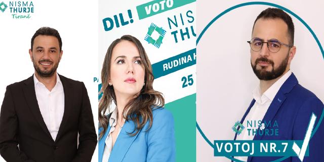 Hajdari, Soko, Shabani; sa janë votuar tre kandidatët