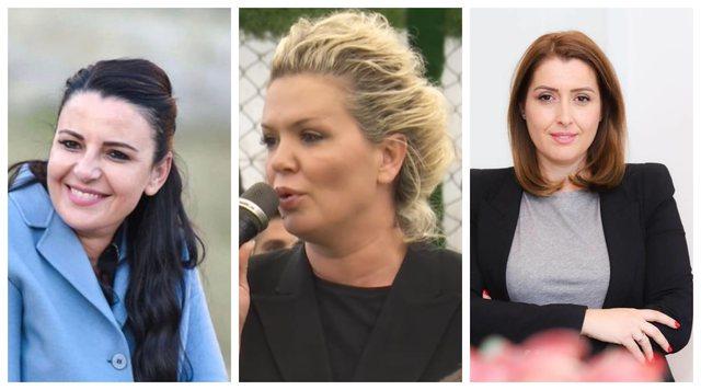 Tri gratë më të votuara nga qytetarët, njëra prej tyre