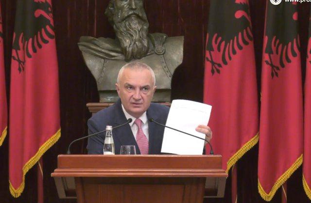 """""""Parlamenti do të ekzekutojë dënimin e Metës nga"""