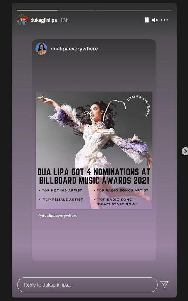 """Dua Lipa nominohet në katër kategori në """"Billboard Music"""