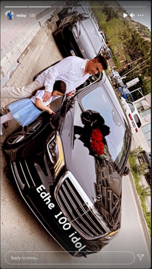 """""""Edhe 100 idhull"""", Noizy i blen babait makinën luksoze për"""