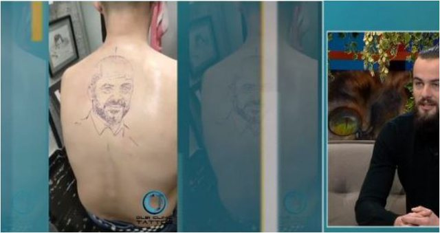 Bëri tatuazh portretin e Ramës në trup, djali rrëfen cila