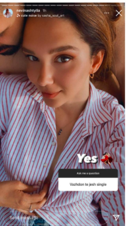 Nevina Shtylla publikon për herë të parë foto me të