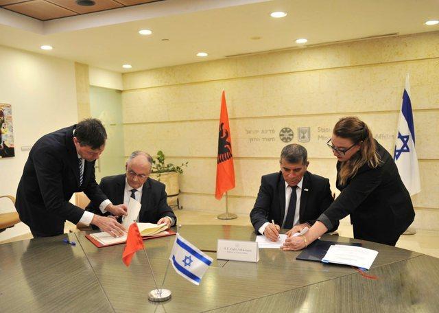 Shqipëria dhe Izraeli nënshkruajnë Konventë për