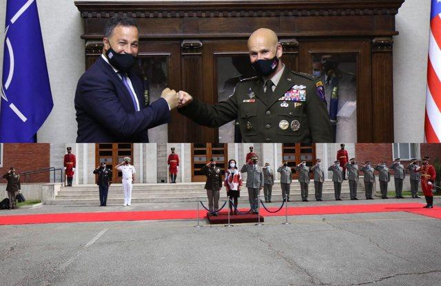 """""""Defender Europe 21"""",Peleshi pret Komandantin e ushtrisë"""