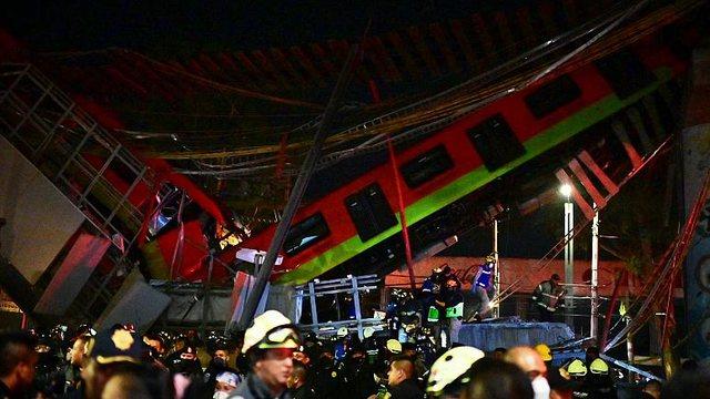 Shembet mbikalimi i metrosë në Meksikë, 15 viktima dhe dhjetra