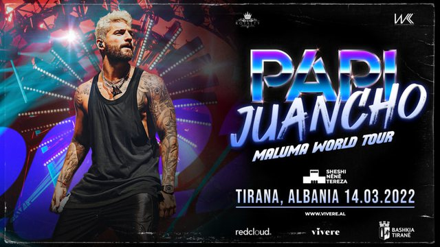 The new date is confirmed, when Maluma's concert will take place in Tirana