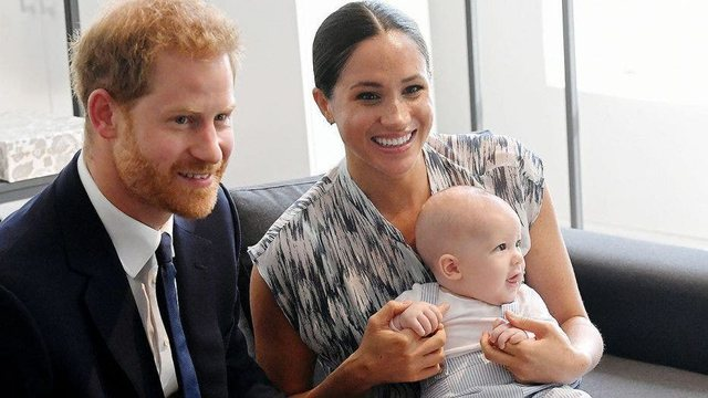 Meghan and Harry post the photo of Archie for her 2nd birthday