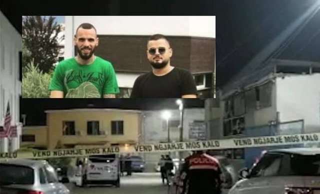 Murder in Tirana / The perpetrator and one of those present in the crime