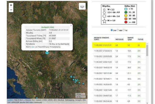 Tërmet në Greqi, lëkundjet e forta ndihen dhe në