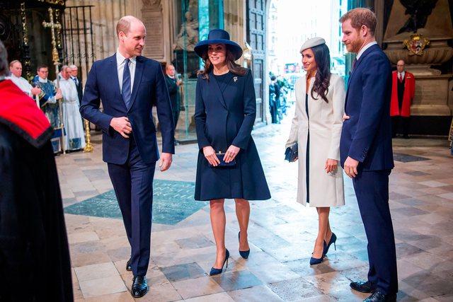 Meghan dhe Harry marrin dhuratën e parë nga Kate dhe William për