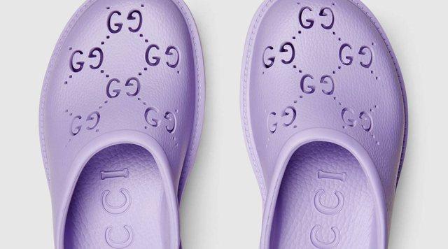 """Sa kushtojnë një palë sandale prej gome """"Gucci"""""""