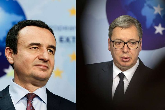 Bisedimet Kosovë-Serbi, Kurti dhe Vuçiç takohen më 15
