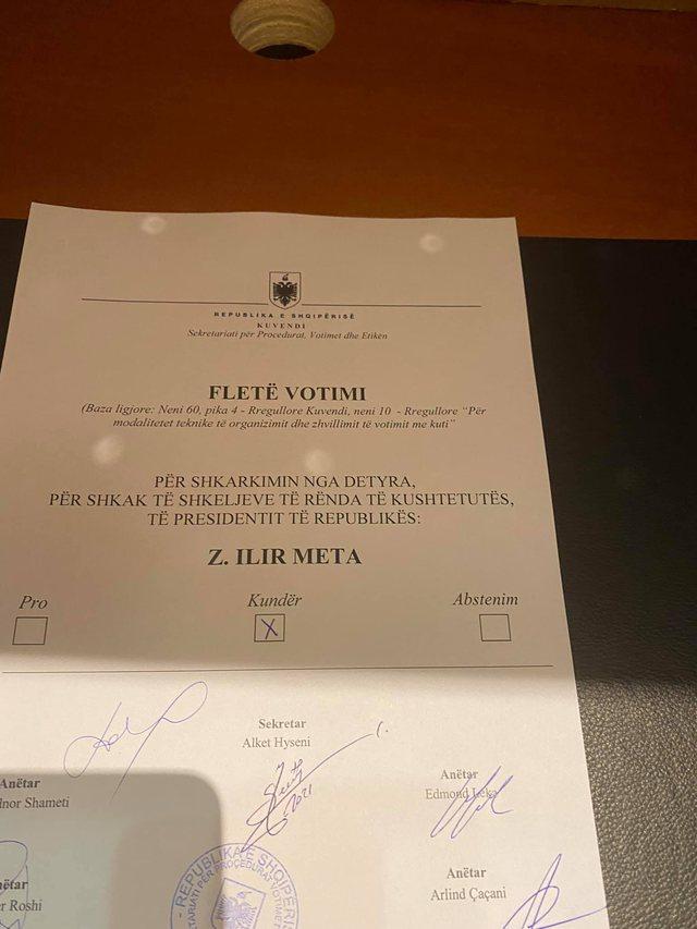 104 votuan pro, kush janë shtatë deputetët që votuan
