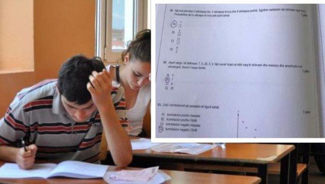 30 minuta pas nisjes së testimit, del në internet teza e provimit