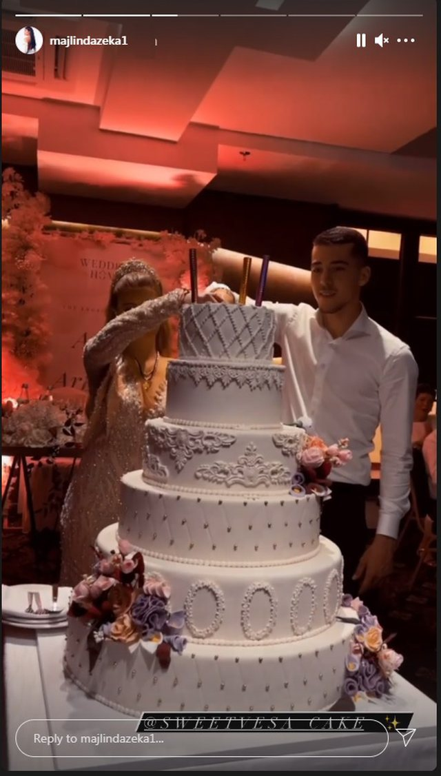 Albanian footballer Agim Zeka is engaged