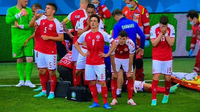 Euro 2020/ Eriksen humb ndjenjat në fushë, ndërpritet ndeshja mes