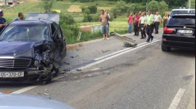 Three cars on the Fushë-Krujë-Tirana axis are involved in the
