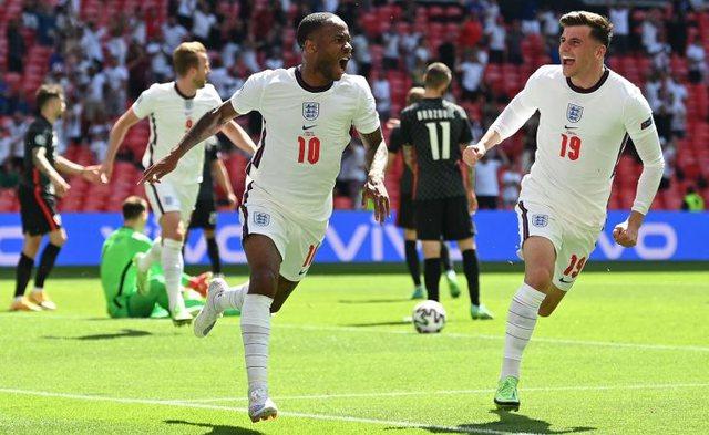 "England debuts with victory in ""Euro 2020"", defeats Croatia"