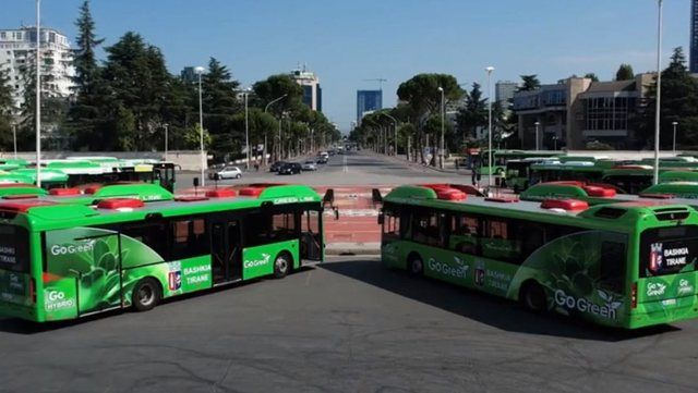 The first 20 electric buses arrive in Tirana, they will be put into circulation