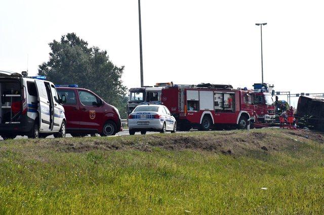 Del shkaku i aksidentit të autobusit nga Kosova në Kroaci, shoferin e