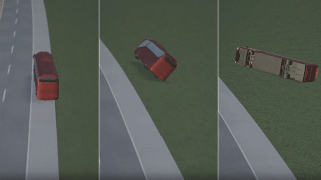 Video in 3D, how the tragic accident with 10 victims happened in Croatia