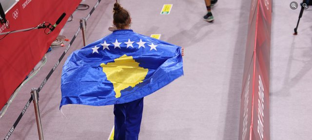 Historic for Kosovo, receives two gold medals in Tokyo 2020; Nora Gjakova is